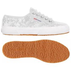 € 84,00 - Upper in combed paillettes Lining in cotton Outsole in natural rubber... Only at #Superga!