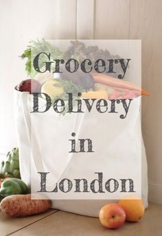 Grocery Delivery Services in London (online supermarkets that deliver to your home) | The Palette Cleanser Non Perishable, Grocery Delivery Service, Online Supermarket, Grocery Store, Cleanser, Divas, Travel Destinations, Blogging, Palette