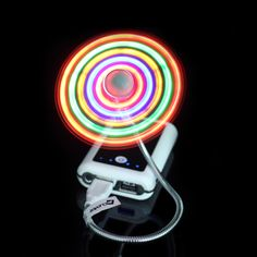 LED USB Flashing Fan | GF Brand