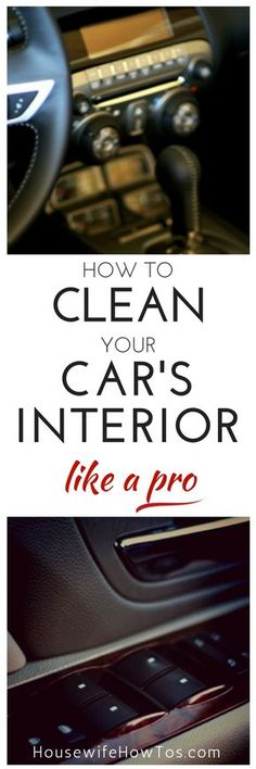 No more messy, smelly car for me! | via HousewifeHowTos.com