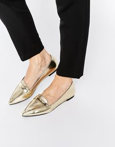 Wish I could rock these cute ASOS shoes on my flat feet.