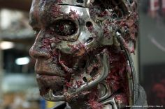 #makeup effects by master of masters Stan Winston and his world famous studio.