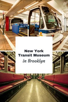 The New York Transit Museum in Brooklyn is one of the small, great museums for kids and families in the city. Learn everything about NYC transportation, including buses, subways, vintage trains and more. Fantastic exhibitions and the perfect place to take the family on a rainy day. #newyorktransitmuseum #newyorkkidfriendlymuseums #museum