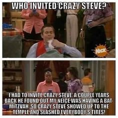 "He is always the life of the party. | 13 Signs You Are Actually Crazy Steve From ""Drake And Josh"""