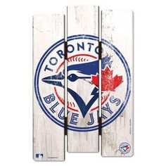 Wood Fence Sign 11. Fence SignsWood FencesToronto Blue JaysWood ...  sc 1 st  Pinterest & Toronto Blue Jays Fathead Style Wall Decal: Mariners Giants Dodgers ...