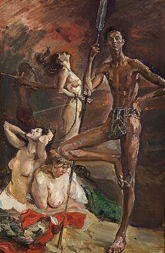 Max Slevogt - Der Sieger (1914)