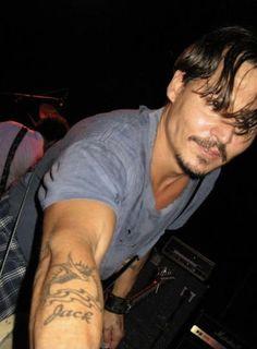 Johnny Depp Band, Johnny Depp Tattoos, Young Johnny Depp, Johnny Depp Movies, Magcon, Jonh Deep, Johnny And Winona, It's Johnny, Demi Lovato
