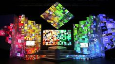 Samsung Smart TV Launch Event Projection | Spinifex