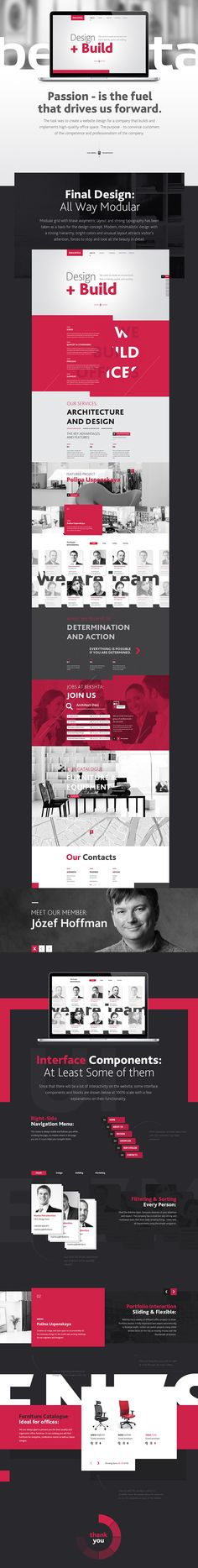 Bekshta Corporate Website / Alexey Masalov