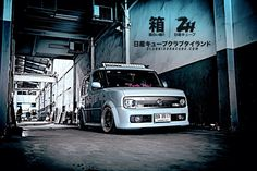 Cube Thailand Kei Car, Red Dog, City Car, Custom Cars, Cubes, Jdm, Cars And Motorcycles, Minis, Nissan