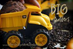 BIG Builders play dough