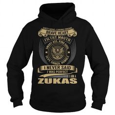Cool ZUKAS Last Name, Surname T-Shirt T-Shirts