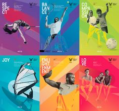Sport at the Service of Humanity 2016 | Branding on Behance