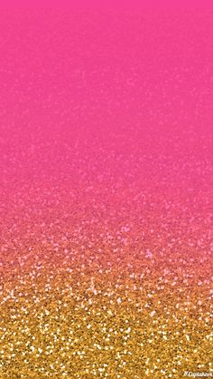 Cuptakes pink and gold glitter iphone wallpaper