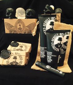 Rebels Refinery soap, chapstick and gift sets in stock now #giftsforhim #giftsforher #orangeville #pearhome #gifts