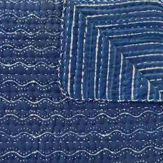 Sally Campbell, Handmade Textiles - Indigo Blues Quilt