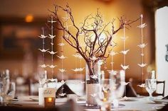 wedding paper cranes - Google Search