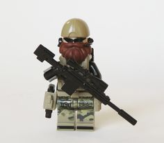 Lego Medal of Honor - Dusty Custom Minifigure Lego Custom Minifigures, Lego Minifigs, Lego Technic, Lego Bed, Lego Soldiers, Lego Craft, All Lego, Lego Mecha, Star Wars Pictures