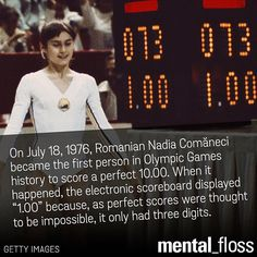 She was awarded the score six more times during those Montreal games.