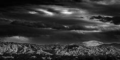 Santa Fe Baldy http://mabrycampbell.com #image #photograph #newmexico #santafe #mabrycampbell #landscape #mountain #mountains #photography #blackandwhite
