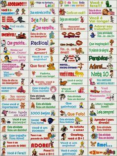 Incentivos para o caderno - Educar Atividades