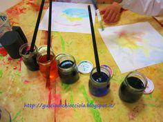 laCHIocciolA ...bricolage educativi...: Come ti riciclo i pennarelli scarichi