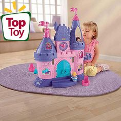 Fisher-Price Little People Disney Princess Songs Palace Play Set For Madee? $35 at Walmart