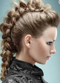 Trendy braided mowhak the greatest hairstyles :-)
