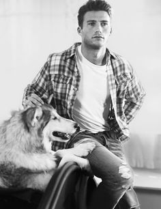 Scott Eastwood for Abercrombie + Fitch | GOOD LORD, this man, I just.....