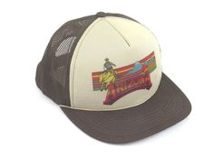 4th of July Independence Day Retro Sign Men Trucker Fit Casual Structured Snapback Cap