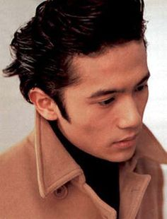 違う髪型の稲垣吾郎