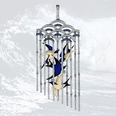 These birds are not only gold and enamel, but a perfect idea iof freedom and flight. Plus diamonds and sapphires   #hautejoaillerie #collectiblejewelry #jewelsofinstagram #jewelleryquater #jewelleryart #jewellerygoals #jewellerytrends #jewelleryactivist #jewellerumonthly #royaljewels #royaljewellers #bespokenjewelry #enameljewelry #jewelsofvogue #southseapearl #gemporn #gemmology #preciousgemsl #gemsandminerals