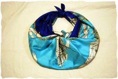 swellmayde: DIY scarf bag (Hermes Knotting Cards)