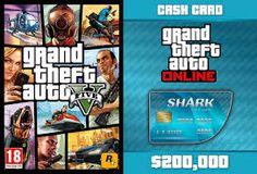 GTA V CASH CARD $200,000