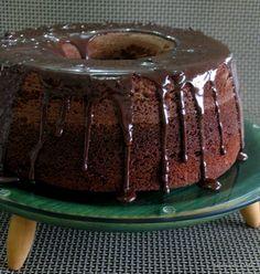 saboreando a vida: Bolo de Chocolate Fofão