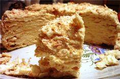 Торт Наполеон классический  (мой любимый вариант)