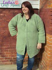 Kristen Cardigan Plus Sizes crochet pattern! Includes sizes 3x-5x!