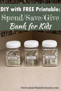 Kids Room Murals, Kids Room Paint, Teaching Money, Savings Jar, Money Jars, Kids Room Organization, Diy For Girls, Kids Diy, Diy On A Budget