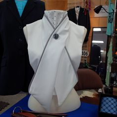 Show Hack Dressage Stock Tie Dickie with by LastgImpressions, $45.00