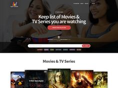 My Movie Rack Homepage by Pooja Shetti