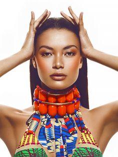 Recent work by fashion and beauty photographer David Benoliel.  More beauty photography via Behance