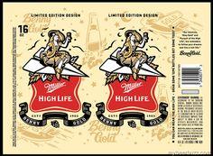 mybeerbuzz.com - Bringing Good Beers & Good People Together...: Miller High Life Limited Edition Design Cans - Ben...