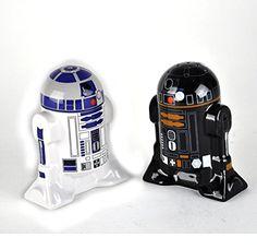 Star Wars Droid Salt and Pepper Shakers, Set of 2, Black Star Wars http://www.amazon.co.uk/dp/B00KFDQA38/ref=cm_sw_r_pi_dp_9ZCFvb070BTXQ