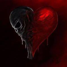 Original still picture artist unknown. Animated by Cousin Ike of Steampunkd Studio. Skull Tatto, Neck Tatto, Skull Rose Tattoos, Dark Fantasy Art, Fantasy Kunst, Dark Artwork, Skull Artwork, Grim Reaper Art, Totenkopf Tattoos