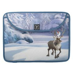 Disney Frozen Olaf and Sven Sleeves For MacBook Air. For details or ordering click on the image!