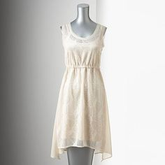 Just bought this. Thinking for shower or rehearsal dinner. ♥♥ Simply Vera Vera Wang Lace Empire Dress - Women's