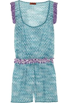 Missoni beach cover up