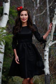 Nutcracker Dress Black