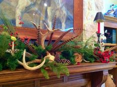 OMG! We think YOU have GOT to CHECK OUT these GRAND ideas! Read here -  http://www.womensoutdoornews.com/2014/11/6-decor-tips-sporting-christmas/ '6 Décor Tips for a Sporting Christmas' Heritage Game Mounts ‪#‎Christamsdecorideas‬ pheasant feather, fishing creel, dog tag ornament, duck decoy decoration, antler ornaments Heritage-Game-Mounts-Christmas-pheasants-featured Heritage-Game-Mounts-Christmas-antler-mantle