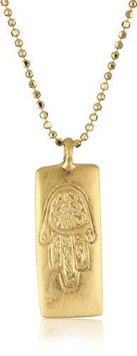 Hamsa pendantholy land jewelry solid gold turquoise hamsagold satya jewelry gold hamsa pendant necklace yellow gold pendant necklace aloadofball Choice Image